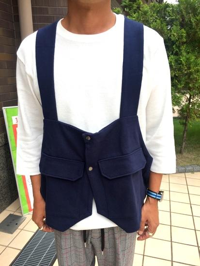 バッグを着る~Backpack Vest !