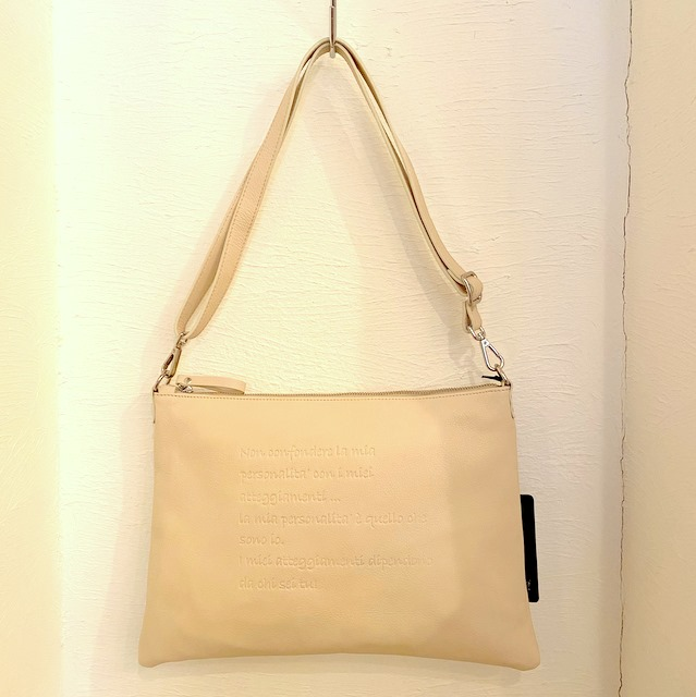 Shoulder & Clutch 2 Way Bag 再び!
