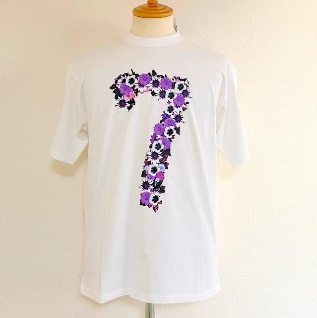 フラワー「7」Tシャツ!