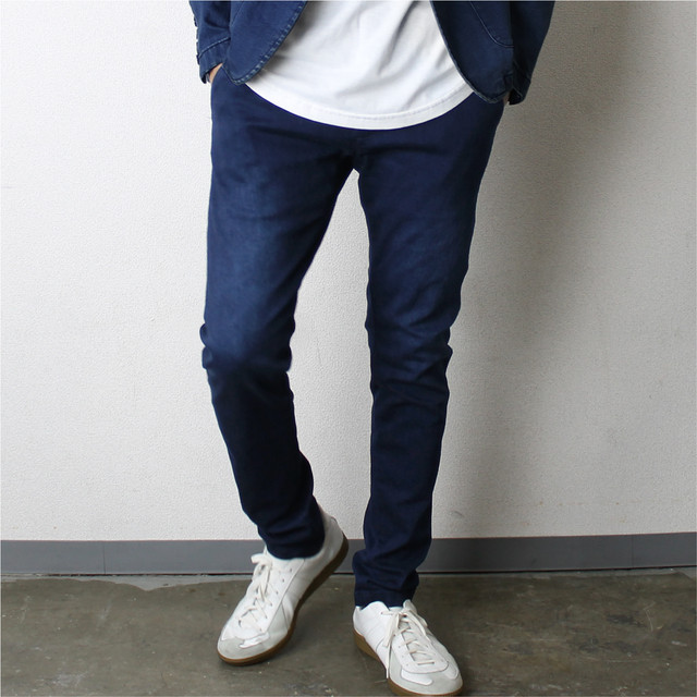 定番!Stretch Denim Tapered Pants