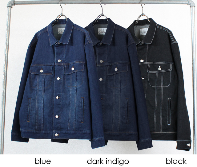 Denim Big Size Blouson