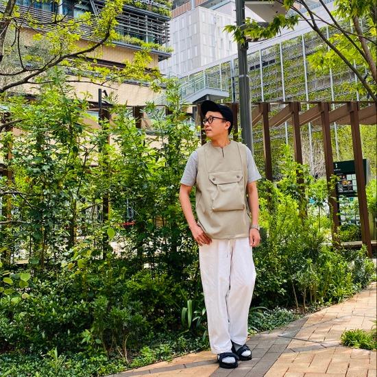 Reflax® Big Pocket Key-neck Vest